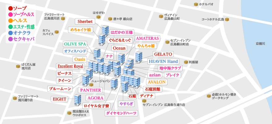 薬研堀マップ