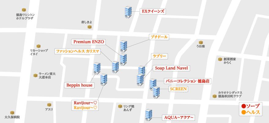 徳島マップ