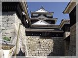 松山城の風景