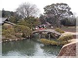 岡山後楽園の風景