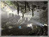 秋芳洞の風景