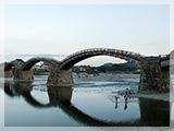 錦帯橋の風景
