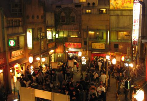 横浜ラーメン博物館風景