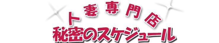 人妻専門店 秘密のスケジュール(徳島市 デリヘル)