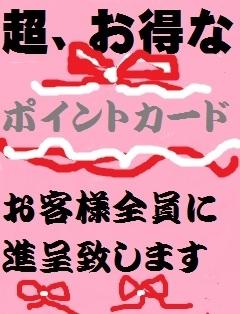 桜吹雪ポイントカード(香川県いんらん夫人~ラビアン~)