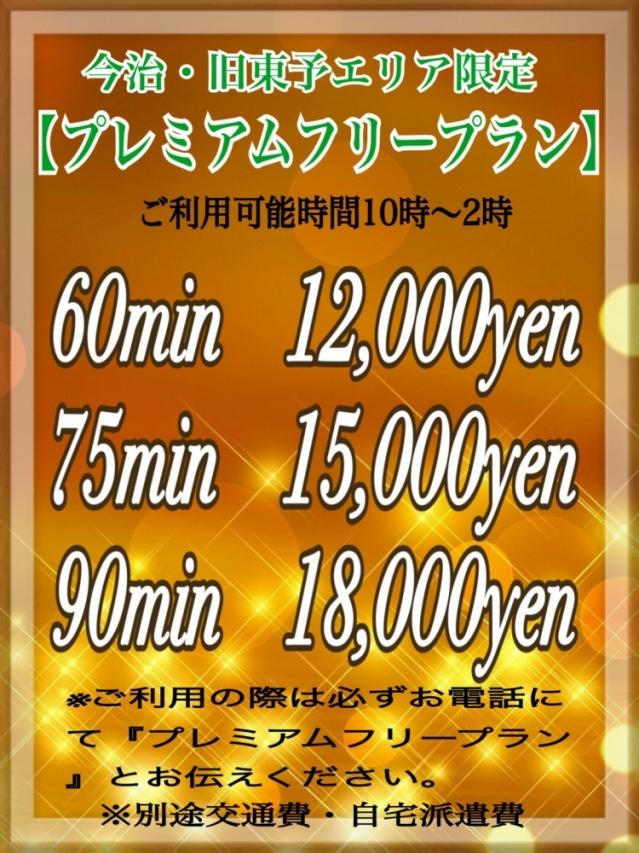 【プレミアムフリープラン】(Nine door (西条・新居浜・今治))