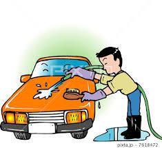 洗車したよ(笑)