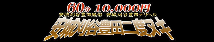 60分10,000円 安城刈谷豊田二度抜き(安城・岡崎 デリヘル)